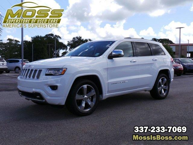 2015 jeep grand cherokee overland 4x2 overland 4dr suv for sale in lafayette louisiana. Black Bedroom Furniture Sets. Home Design Ideas