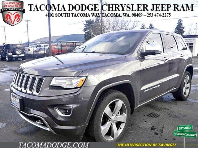 2015 jeep grand cherokee overland 4x4 overland 4dr suv for sale in tacoma washington classified. Black Bedroom Furniture Sets. Home Design Ideas