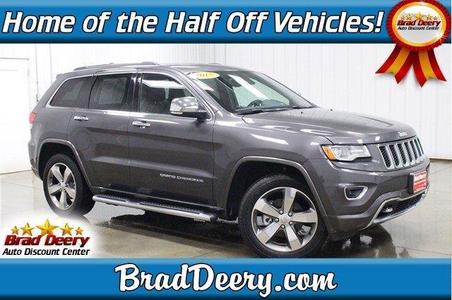 2015 jeep grand cherokee overland 4x4 overland 4dr suv for sale in fulton iowa classified. Black Bedroom Furniture Sets. Home Design Ideas