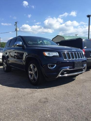 2015 jeep grand cherokee overland 4x4 overland 4dr suv for sale in oak ridge tennessee. Black Bedroom Furniture Sets. Home Design Ideas