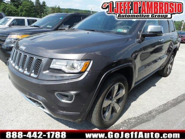 2015 jeep grand cherokee overland 4x4 overland 4dr suv for sale in downingtown pennsylvania. Black Bedroom Furniture Sets. Home Design Ideas