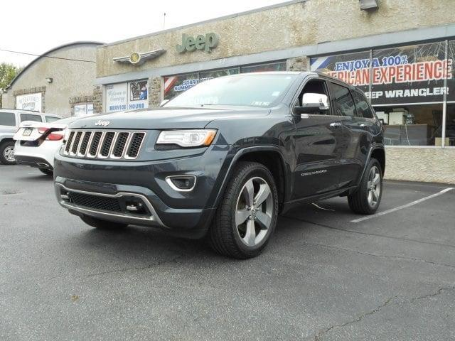 2015 jeep grand cherokee overland 4x4 overland 4dr suv for sale in coatesville pennsylvania. Black Bedroom Furniture Sets. Home Design Ideas