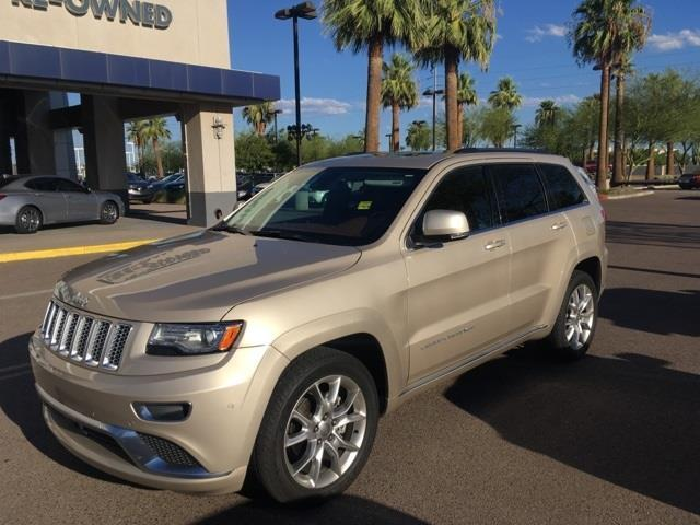 2015 jeep grand cherokee summit 4x2 summit 4dr suv for sale in peoria arizona classified. Black Bedroom Furniture Sets. Home Design Ideas