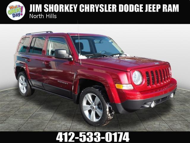 2015 Jeep Patriot Latitude 4x4 Latitude 4dr SUV
