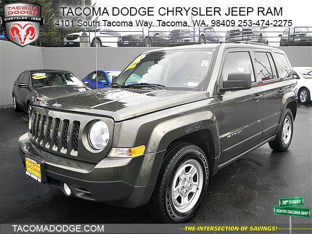 2015 jeep patriot sport sport 4dr suv for sale in tacoma. Black Bedroom Furniture Sets. Home Design Ideas