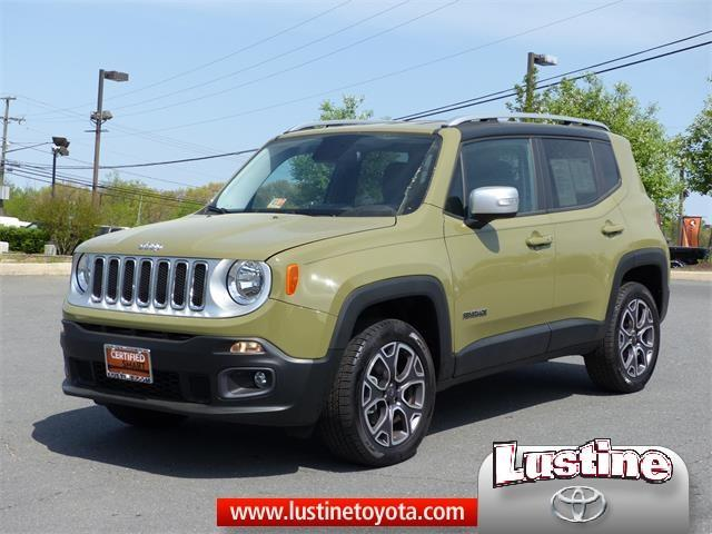 2015 jeep renegade limited 4x4 limited 4dr suv for sale in woodbridge virginia classified. Black Bedroom Furniture Sets. Home Design Ideas