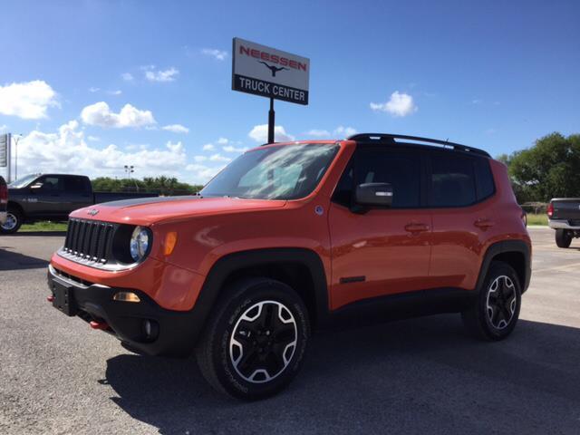2015 Jeep Renegade Trailhawk 4x4 Trailhawk 4dr SUV