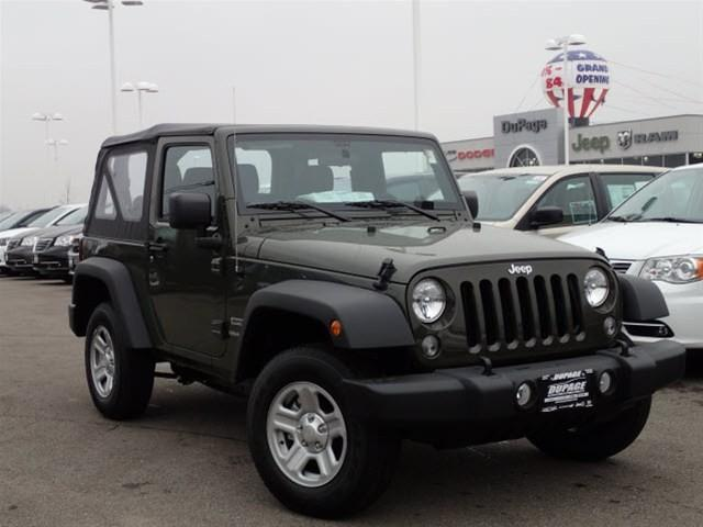 2015 jeep wrangler 4wd 2dr sport for sale in glendale heights illinois classified. Black Bedroom Furniture Sets. Home Design Ideas