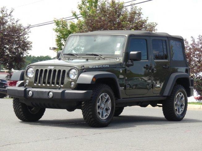 2015 Jeep Wrangler 4WD Unlimited Rubicon