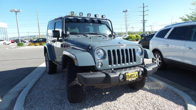 2015 Jeep Wrangler Rubicon 4x4 Rubicon 2dr Suv For Sale In Billings Montana Classified