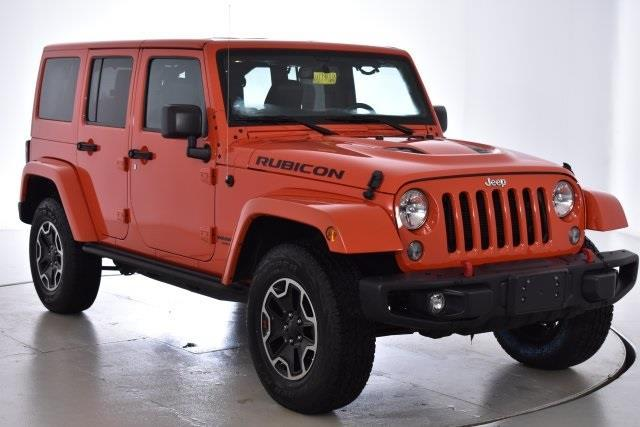 2015 Jeep Wrangler Unlimited Rubicon 4x4 Rubicon 4dr