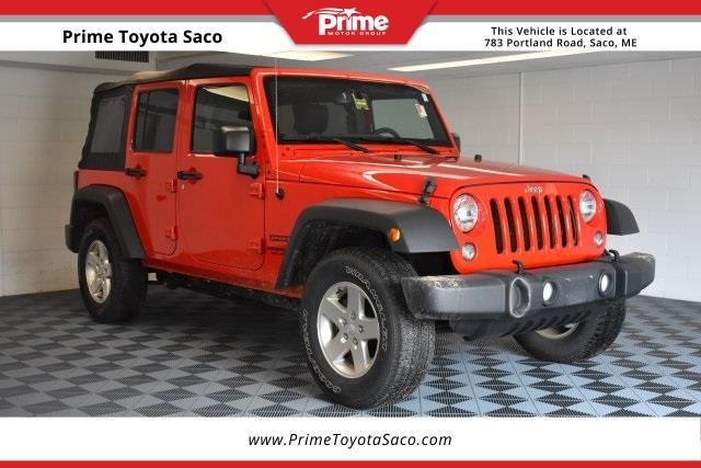 2015 jeep wrangler unlimited sport 4x4 sport 4dr suv for sale in saco maine classified. Black Bedroom Furniture Sets. Home Design Ideas