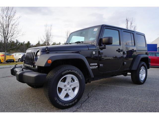 2015 Jeep Wrangler Unlimited Sport 4x4 Sport 4dr Suv For