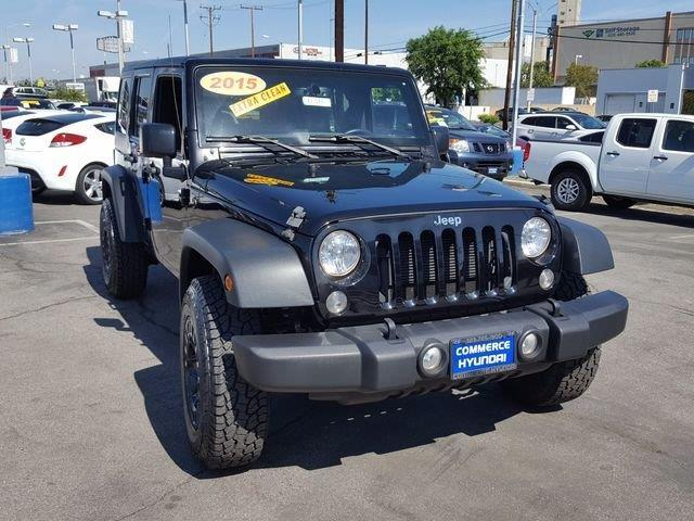 2015 jeep wrangler unlimited sport 4x4 sport 4dr suv for sale in los angeles california. Black Bedroom Furniture Sets. Home Design Ideas
