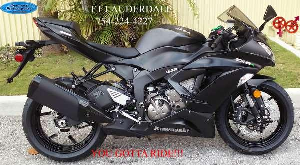 2015 kawasaki ninja zx 6r for sale in miami florida classified. Black Bedroom Furniture Sets. Home Design Ideas