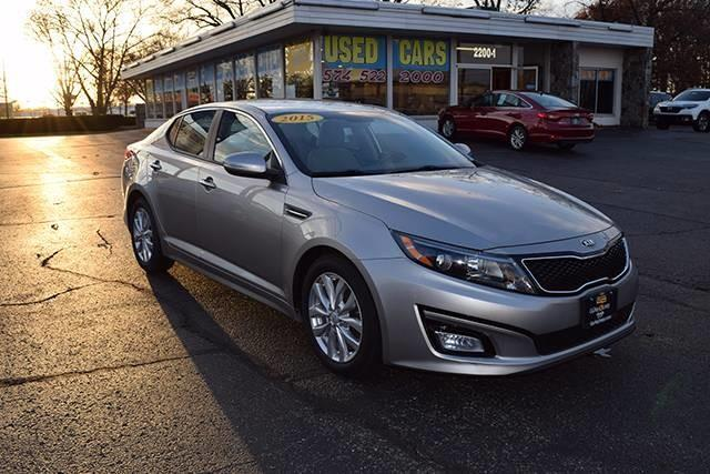 2015 kia optima lx lx 4dr sedan for sale in elkhart indiana. Black Bedroom Furniture Sets. Home Design Ideas