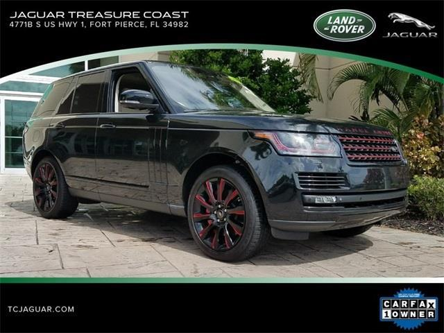 2015 Land Rover Range Rover Supercharged 4x4