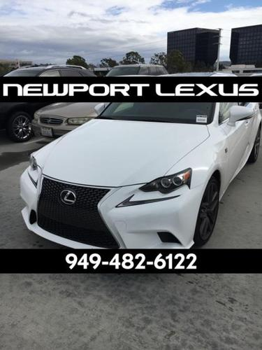 2015 Lexus IS 250 Base 4dr Sedan