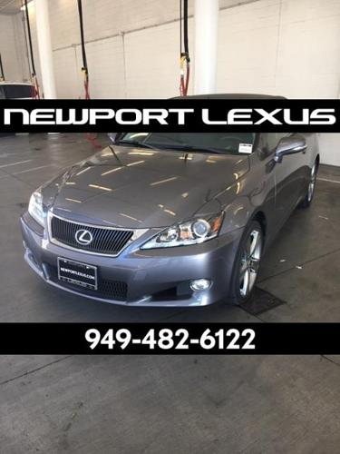 2015 lexus is 250c base 2dr convertible for sale in newport beach california classified. Black Bedroom Furniture Sets. Home Design Ideas