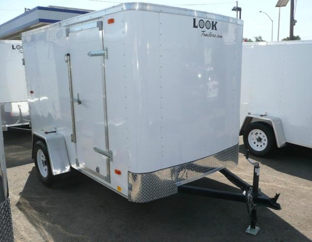 2015 Look 6x10 Enclosed Cargo Trailer -- We Finance