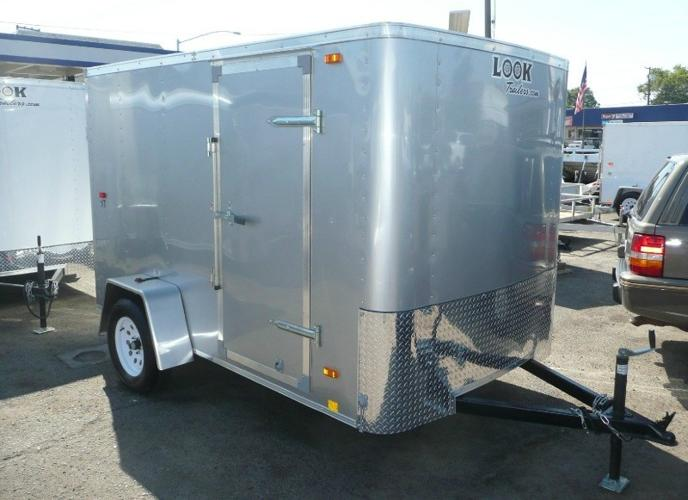 2015 Look ST 6x10 Enclosed Cargo Trailer