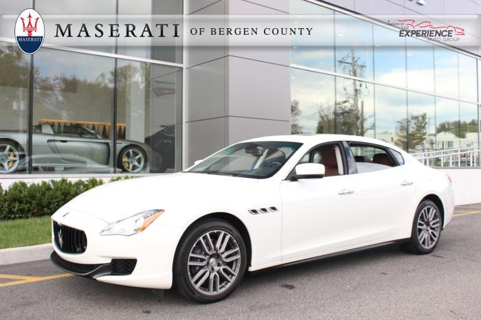 Maserati Of Bergen County >> 2015 MASERATI QUATTROPORTE S Q4 for Sale in Upper Saddle ...