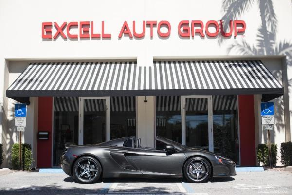 2015 McLaren 650S Spider Base 2dr Convertible