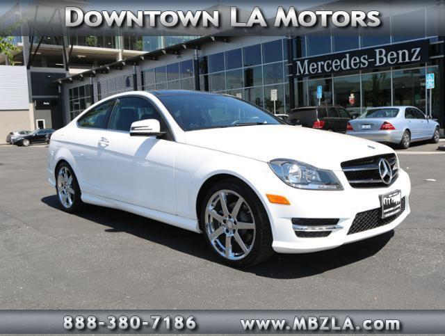 2015 mercedes benz c class c 250 c 250 2dr coupe for sale for Downtown la motors mercedes benz