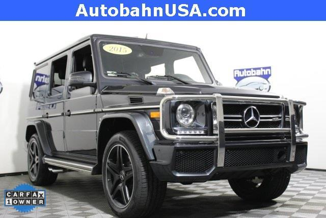 2015 Mercedes Benz G Class G 63 Amg Awd G 63 Amg 4matic 4dr Suv For