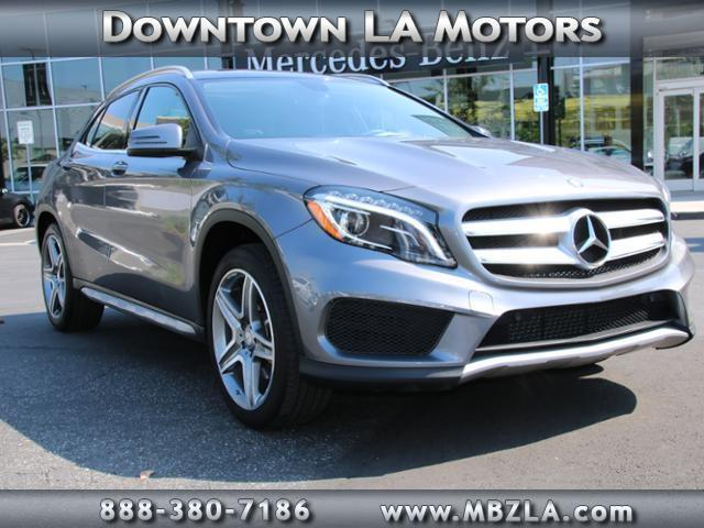 2015 mercedes benz gla gla 250 4matic awd gla 250 4matic for Downtown la motors mercedes benz