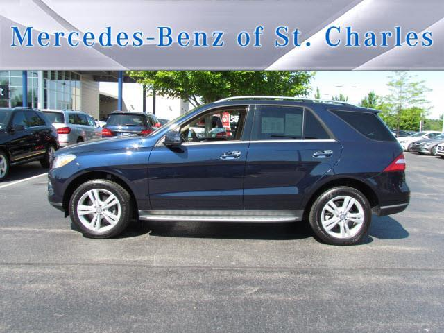 2015 mercedes benz m class ml 350 4matic awd ml 350 4matic for Mercedes benz st charles il