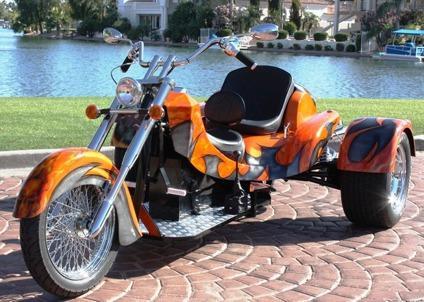 )_( 2015 NEW Motorcycle Trike Custom Trike, Chopper Trike)_( VW Trike  Motorcycle