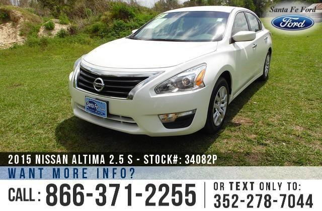 2015 Nissan Altima 2.5 S - 26K Miles - On-Site