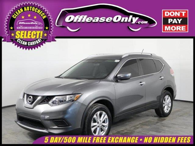 2015 Nissan Rogue S AWD S 4dr Crossover