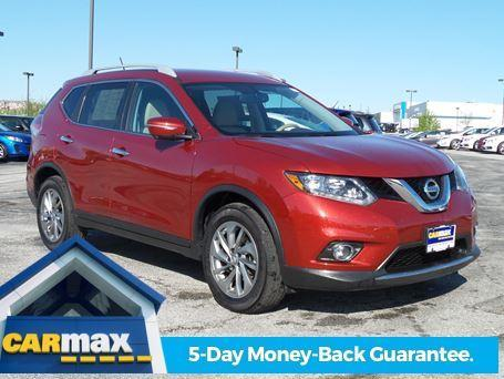 used 2015 nissan rogue for sale carmax autos post. Black Bedroom Furniture Sets. Home Design Ideas
