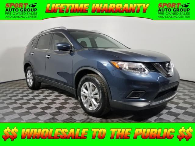 2015 Nissan Rogue SV SV 4dr Crossover