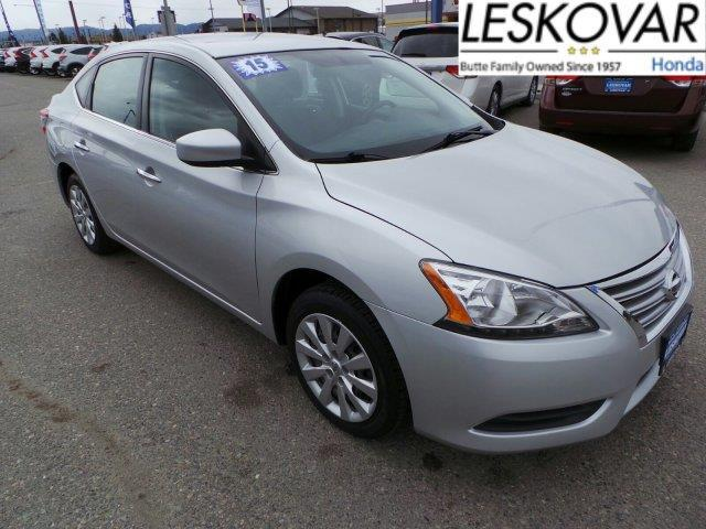 2015 nissan sentra sv sv 4dr sedan for sale in butte. Black Bedroom Furniture Sets. Home Design Ideas