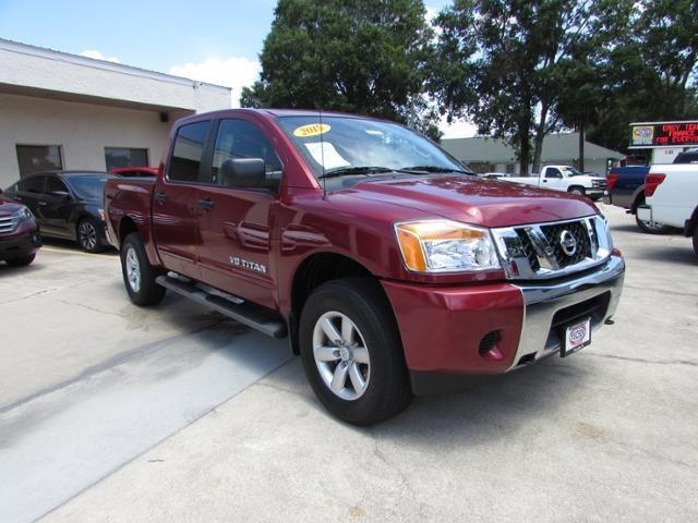 2015 nissan titan s 4x4 s 4dr crew cab swb pickup for sale in titusville florida classified. Black Bedroom Furniture Sets. Home Design Ideas