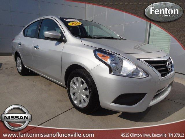 2015 nissan versa 1 6 s 4dr sedan 5m for sale in knoxville. Black Bedroom Furniture Sets. Home Design Ideas