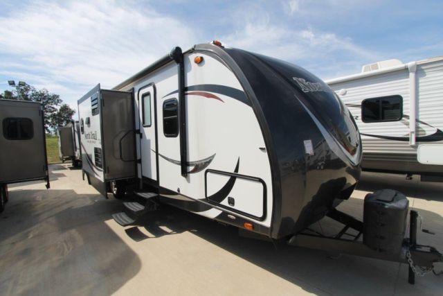 2015 NORTH TRAIL 30BKSS - FIBERGLASS BUNKHOUSE - 1/2