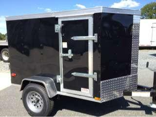 2015 Other New 4x6 VNose Enclosed Trailer