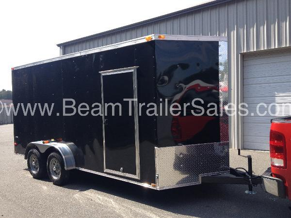 2015 Other New 7x16 VNose Enclosed Trailer