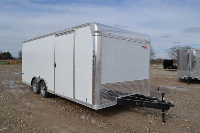 2015 pace american 8 5 x 20 enclosed car hauler trailer