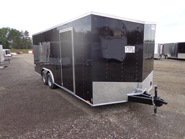 2015 Pace American 8 5 U0026 39  X 20 Enclosed Cargo Auto Hauler