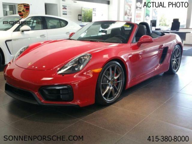 2015 porsche boxster gts for sale in mill valley california classified. Black Bedroom Furniture Sets. Home Design Ideas