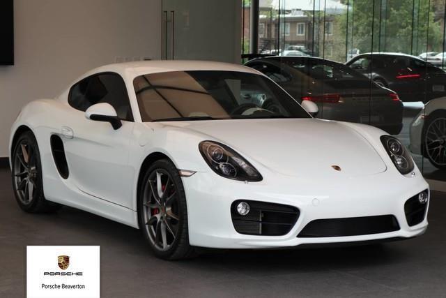 2015 Porsche Cayman S S 2dr Coupe