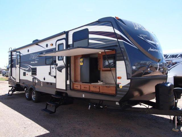 2015 puma 30fbss anniversary edition bunkhouse 4 season rated for sale in mesa arizona. Black Bedroom Furniture Sets. Home Design Ideas