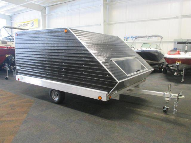 2015 R Amp R 11tc Cap Enclosed Snowmobile Trailer For Sale In