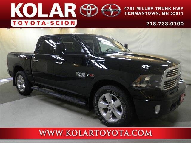 Kolar Toyota Duluth Minnesota >> 2015 Ram Ram Pickup 1500 Big Horn 4x4 Big Horn 4dr Crew
