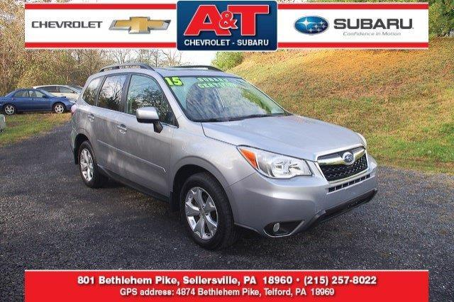 2015 subaru forester limited awd limited 4dr wagon for sale in sellersville. Black Bedroom Furniture Sets. Home Design Ideas